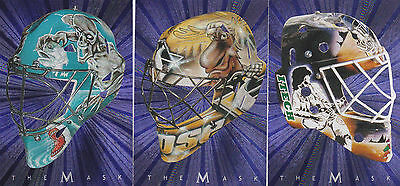 01-02 BAP Evgeni Nabokov The Mask Between The Pipes 2001 Be A Player Sharks