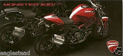Motorcycle Brochure - Ducati - Monster - 1100 EVO - c2010 (DC285)