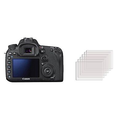3 x Clear LCD Screen Protector Film Foil Saver For Canon EOS 7D Mark 2 II