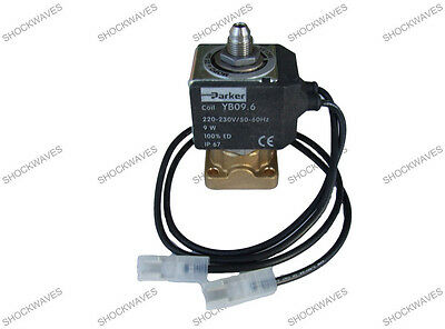 YB09 Solenoid 230V with Leads 3-port Valve for Espresso Coffee Machine Maker Con