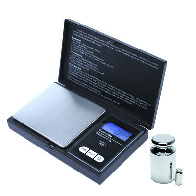 200g x 0.01g Pocket Digital Scale Precision Jewelry Scale - Calibration Weights