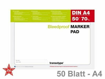 COPIC Alkohol Marker Pad A4 - MANGA / Design -  Layoutblock 50 Blatt, 70g,  A4