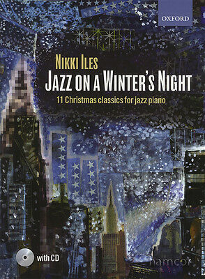 Jazz on a Winter's Night 11 Christmas Classics Piano Music Book/CD Nikki Iles