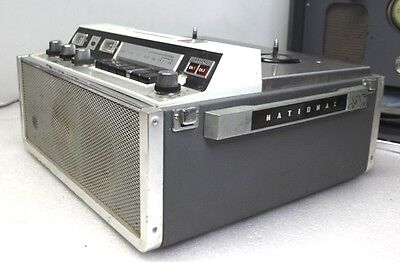 National RS-733 Stereophonic Tube Reel to Reel Machine Vintage Pro Audio