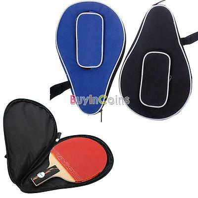 Useful Waterproof Nylon Table Tennis Racket Bag PingPong Paddle Bat Case 01 Firm