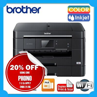 Brother MFC-J5320DW 4in1 Wireless Inkjet Printer+Duplex+ADF+A3 Single Print*NEW*