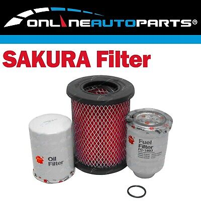 Filter Service Kit for Navara D22 2.7L 3.2L Diesel Air Oil Fuel TD27 QD32 Engine