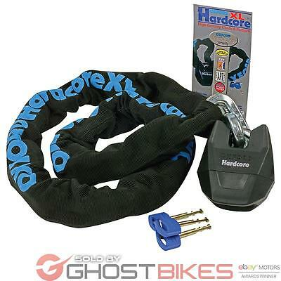 Oxford Hardcore Xl Motorcycle Bike Chain And Lock 1.2M