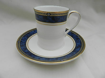 Royal Doulton STANWYCK COFFEE CUP CAN & SAUCER H5212, Excellent.