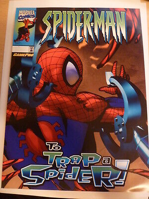 Spiderman : To Trap A Spider. Gamepro Promo Givaway. Very Scarce