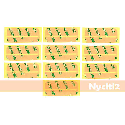 10X 3M Tape LCD Screen Adhesive Glue Sticker For iPod Touch 4 4th Gen