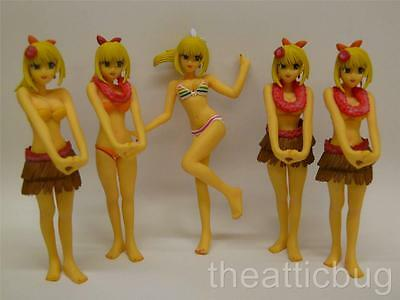 Dead or Alive Xtreme Beach Volleyball Figures ~ Set of 5