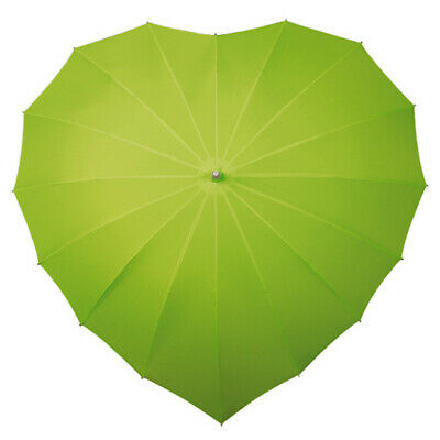 Heart Umbrella - Green