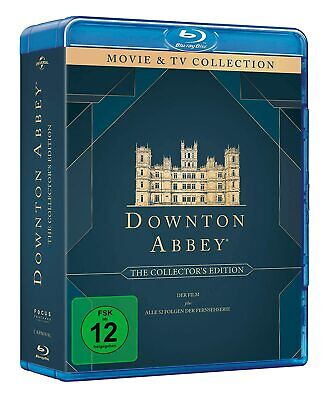 Downton Abbey 1-6 The Complete Season / Series 1 2 3 4 5 6 Blu-Ray Englisch