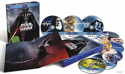 Star Wars The Complete Saga I-Vi - Episode I Ii Iii Iv V Vi Blu-Ray
