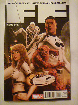 Ff Issue One.  Hickman And Epting.  Marvel Comics-Fantastic Four