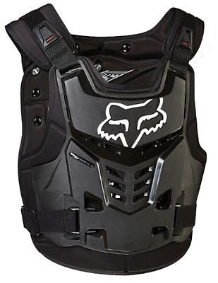 Fox Racing Proframe LC Roost Deflector Guard Chest Protector Black 13577