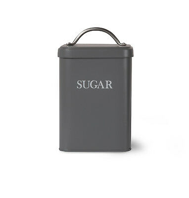 Garden Trading Sugar Canister - Charcoal