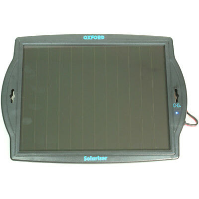 Oxford Solariser Solar Motorcycle Bike Battery Charger