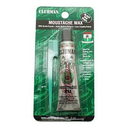 Clubman Moustache Wax Black 14g