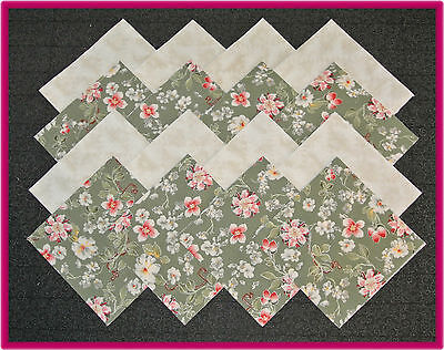 40 Beauties~Fabric Squares/Quilt blocks/Kit/Sewing/quilting/4x4/Material