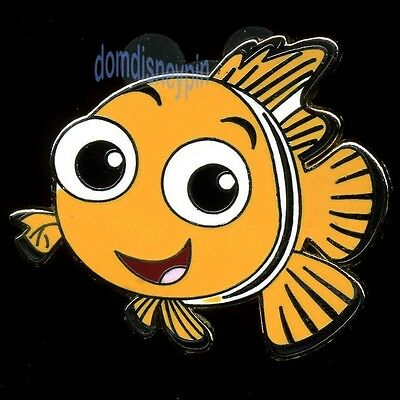 Disney Pin *Finding Nemo* Character Collection - Clown Fish Nemo (Light Orange)!