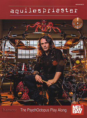 Aquiles Priester The PsychOctopus Play-Along Drum Music Book & CD