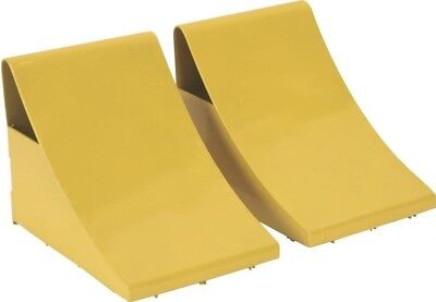 Sealey Heavy-Duty Steel Wheel Chocks 4kg - Pair