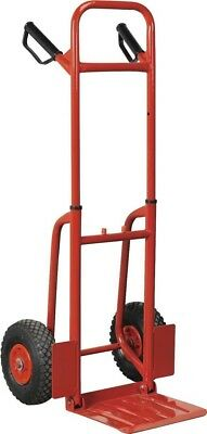 Sealey Sack Truck with Pneumatic Tyres 200kg Folding
