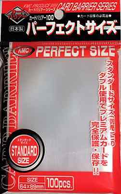 100 Bustine Protettive KMC Magic SPECIALTY SLEEVES PERFECT SIZE Barrier Buste
