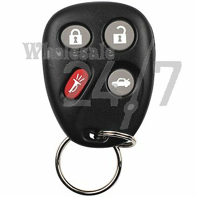 New 4B OEM SATURN L300 Keyless Entry Remote Car Fob Shell Case & Pad for LHJ011