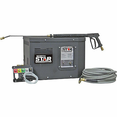 NorthStar Electric Cold Water Stationary Pressure Washer- 3000 PSI 2.5 GPM 230V