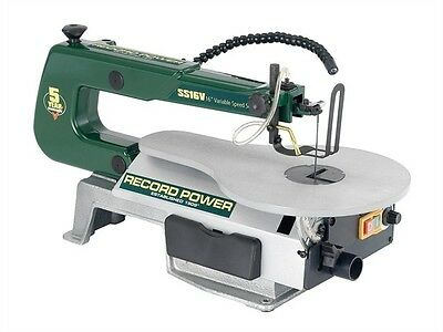 Record Power SS16V Scroll Saw 16In