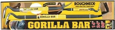 Roughneck Gorilla Bar Set 14in 24in and 36in