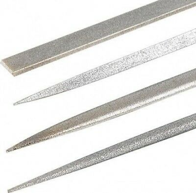 Trend DWS/NFPK/F Diamond Needle File - 4 Pack - Fine