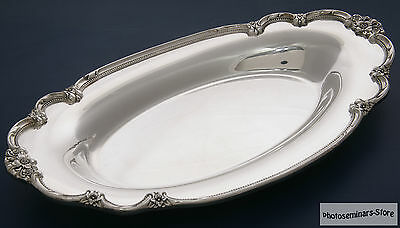 1847 Rogers Bros - 819 - Remembrance ca 1948 Silver Plated Oval Tray (#759)