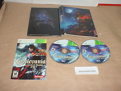 CASTLEVANIA: LORDS OF SHADOW game w/ manual Microsoft XBOX 360