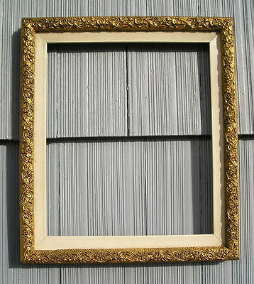 Rare Antique Aesthetic Eastlake~Victorian Ornate Picture Frame 10 x 12
