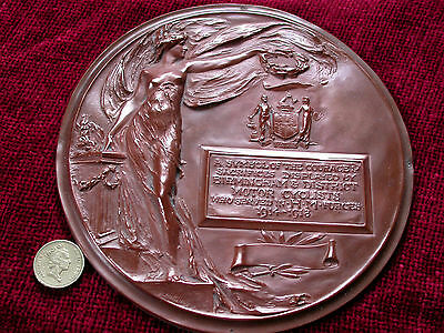 Replica Copy WW1 Plaque to Motorcyclists from Birmingham serving H.M.Forces
