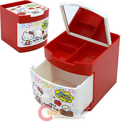Sanrio Hello Kitty Metal Pencil Holder Organizer Can Stationery Lots of Loce