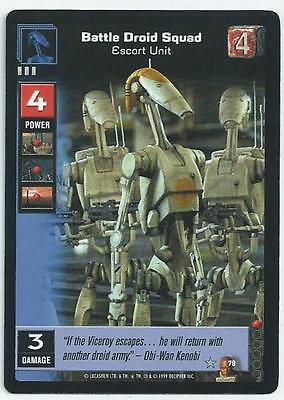 Star Wars Young Jedi - Card 079 - Battle Droid Squad (Aboy)