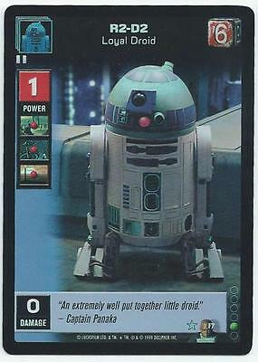 Star Wars Young Jedi - Card F7 - R2-D2 (Abqy)