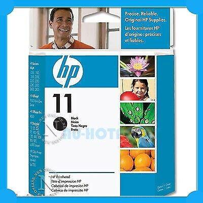 HP Genuine #11-BK BLACK PRINTHEAD->Business Inkjet 1000/1200/2200/2230 (C4810A)