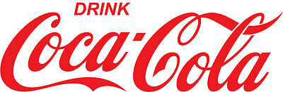 """24"""" Red Drink Coca-Cola Classic Vinyl Decal Sticker Free Shipping"""