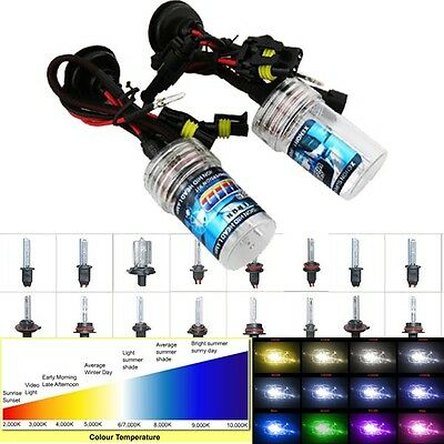 35W HID XENON Replacement Bulbs Front-Lights H1 H3 H7 H8 H9 H10 H11 6000K 8000K