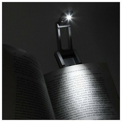 LED Travel Book Reading Light For Nook 2 Simple Touch Kindle Paperwhite 3 4