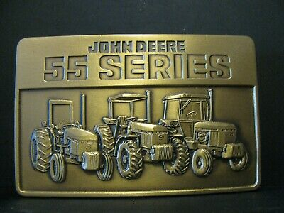 * John Deere 2955 2755 2155 55 Series Tractor Belt Buckle jd 3155 2855 2555 2355