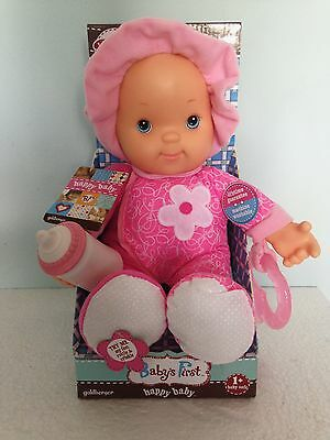 Baby's First Happy Baby Doll