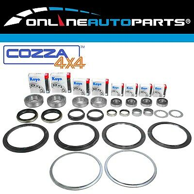 4wd Hub + Wheel Bearing Repair Kit Front Swivel Knuckle Seal fit Patrol GU Y61