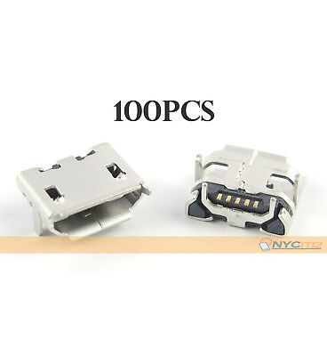 New 100X Micro USB Charging Connector Port For ZTE Warp N860 Sanyo SCP 6760 3810
